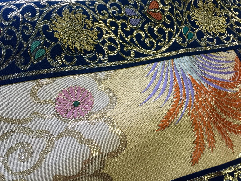 Buddhism kyoto tradition naoshichi fabric repair,七条袈裟修繕 川勝直七
