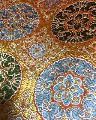 tradition fabric kyoto Buddhism 浄土真宗打敷 金襴 川勝直七