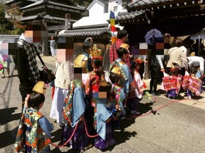 九州出張 浄土真宗 法衣店 稚児行列 法要 お手伝い