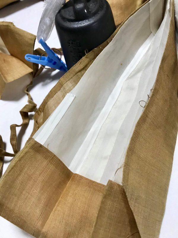 京都 浄土真宗 袈裟お直し 輪袈裟仕立直し リペア 修理 修繕