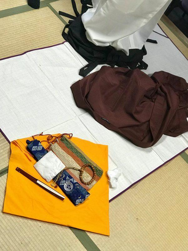 西本願寺 成人式 法衣店でお着替え